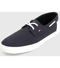 tenis azul navy-blanco-rojo tommy hilfiger