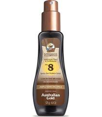 protetor solar australian gold spray gel fps 8 - 125ml único
