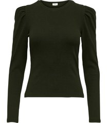 topp jdyceren l/s puff sleeve top