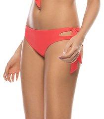 panty vestido de baño cobertura media coral kibys