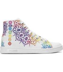 zapatilla blanca weed shoes