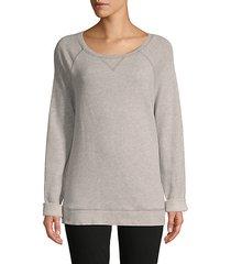 emma raglan-sleeve sweatshirt