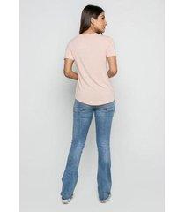 t-shirt rineli ana feminina - feminino