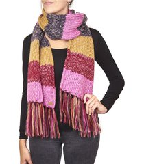 bufanda melange multicolor humana