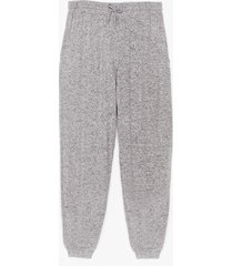 womens what a softie plus lounge joggers - grey
