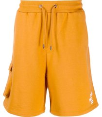 tom wood neal cargo shorts - orange