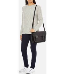 the cambridge satchel company women's 13 inch magnetic satchel - black