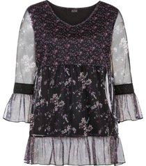 maglia a maniche lunghe (nero) - bodyflirt