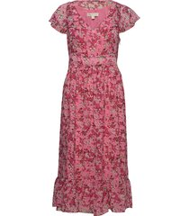 enchanted blooms dr jurk knielengte roze michael kors