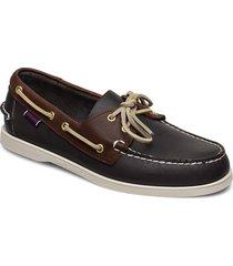 mapple båtskor skor brun sebago