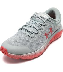 tenis running verde-coral under armour