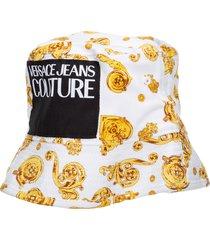 cappello berretto uomo in cotone gold baroque