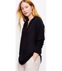 loft lou & grey signaturesoft plush hoodie top