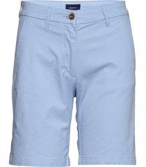 d1. classic chino shorts bermudashorts shorts blauw gant