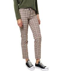 pantalón marrón yurine recto