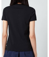 kenzo women's classic tiger classic t-shirt - black - l