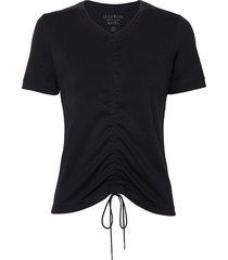 camiseta le lis blanc wanda ii malha algodão preto feminina (preto, gg)