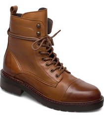 charley shoes boots ankle boots ankle boot - flat brun pavement