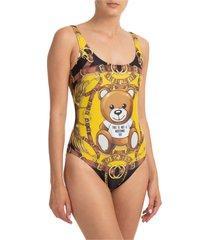 costume da bagno intero donna mare teddy bear