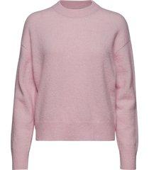 anour o-n 7355 stickad tröja rosa samsøe samsøe