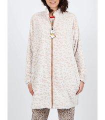 pyjama's / nachthemden admas daisy leopard disney leather jacket