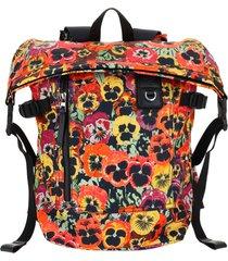 loewe pansies backpack