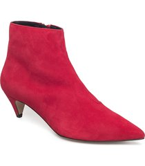 alessa shoes boots ankle boots ankle boots with heel röd henry kole