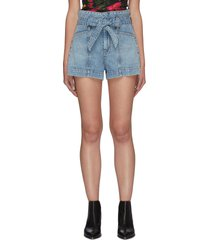 amazing' waistband denim shorts