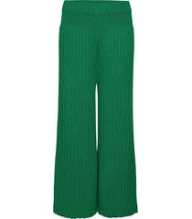 trousers special vida byxor grön kenzo