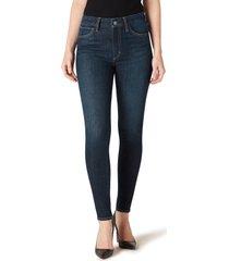 women's joe's hi honey high waist ankle skinny jeans, size 29 - blue
