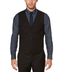men's big and tall solid sharkskin suit vest