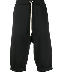 alchemy drop crotch shorts - black