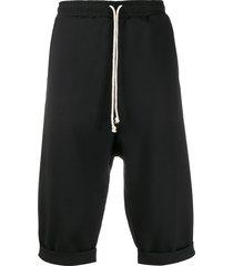 alchemy drop crotch shorts - black