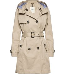 coats woven trench coat rock beige esprit casual