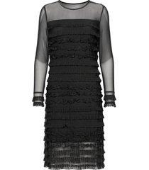 crmalena dress dresses bodycon dresses svart cream