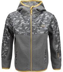 chaqueta grillo therm-pro gris medio lippi