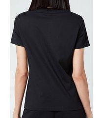 kenzo women's tiger crest classic t-shirt - black - l
