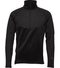 thermo top sweat-shirt trui zwart tenson