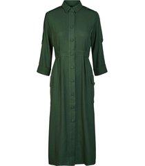 verda 3/4 midi dress