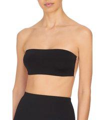 natori affair convertible bandeau bodysuit, women's, black, size l natori