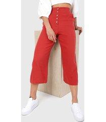 pantalón rojo ambiance