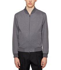 boss men's blouson-style slim-fit jacket