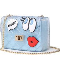 lolita jelly candy clear cute little lolita shoulders bag messenger bag itabag