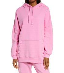 women's ugg simone boyfriend hoodie, size medium - pink