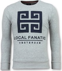 sweater local fanatic greek border leuke g