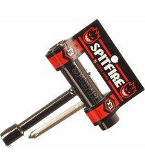 chave spitfire t tool multifuncional para skate importada preta