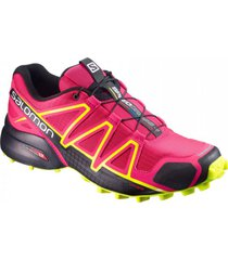 zapatilla rosa salomon speedcross 4 w