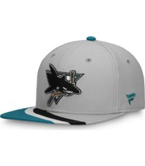 authentic nhl headwear san jose sharks special edition snapback cap