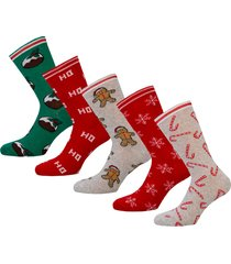 womens 5 pack christmas socks