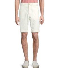 vince men's utility patch-pocket shorts - sail - size 29